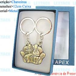 CHAVEIRO C/ CAIXA. TAM:8.3X12X2.4CM