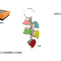 CHAVEIRO C/ CAIXA. TAM:8.3X11.4X3.4CM