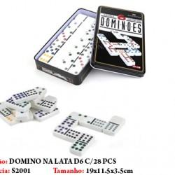 DOMINO NA LATA C/28 PCS