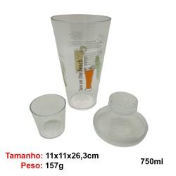 COQUETELEIRA DE ACRILICO COM TAMPA REF:UD375