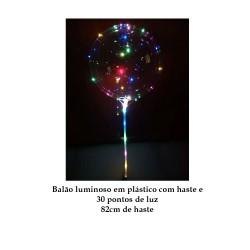 Balão Luminoso com Haste e 30 pontos de luz REF: AP1322-HB