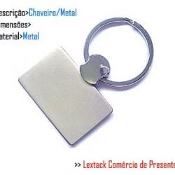 CHAVEIRO EM METAL.  TAM: 13x4.4x1CM