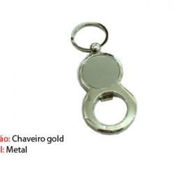 CHAVEIRO E ABRIDOR EM METAL. TAM:9x4.4x3CM